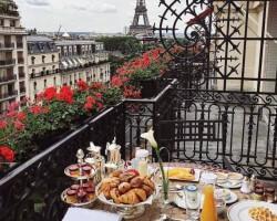 Śniadanie z widokiem :)