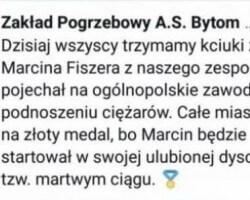 Ulubiona dyscyplina sportowa grabarza z Bytomia