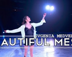 "Evgenia Medvedeva's ""Beautiful Mess"" (sung by Kristian Kostov) in 4K - Stars On Ice 2019"